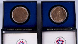 American Revolution Bicentennial Medals Pair