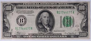 Series 1934A U.S. $100 Note