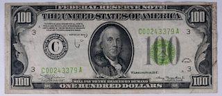 Series 1934 U.S. $100 Note