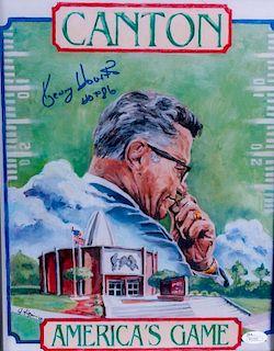 Kenny Houston Autographed Print
