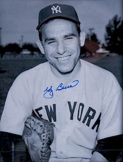 Yogi Berra Autographed Photo