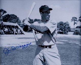 Joe Di Maggio Autographed Photo