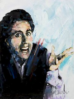 JERRY SEINFELD PAINTING BY SIDNEY MAURER