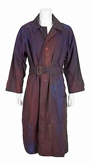 ROBIN WILLIAMS WHAT DREAMS MAY COME TRENCH COAT