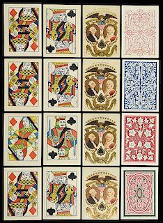 Samuel Hart & Co. Bezique Playing Cards.
