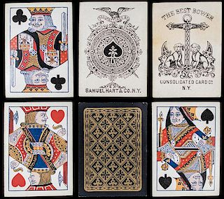 Samuel Hart & Co. Playing Cards.