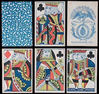 Congress Co. Faro Playing Cards.