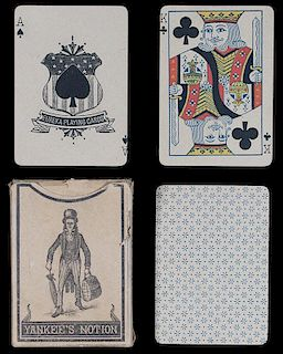 "Union Playing Card Co. Eureka ""Yankee's Notion"" Playing Cards."