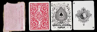 "The Reynolds Card Mfg Co. ""Rough Back"" Playing Cards."