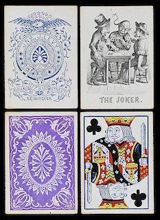 JNo J. Levy Playing Cards.