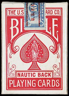 "United States Playing Card Co. Bicycle ""Nautic Back"" Playing Cards."