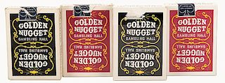 Golden Nugget Casino Playing Cards.