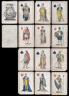 "Jaz. H. Ford ""Lafayette"" Playing Cards."