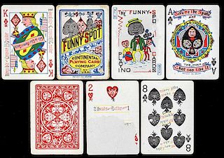 "Continental Playing Card Co. ""Funny Spot."""