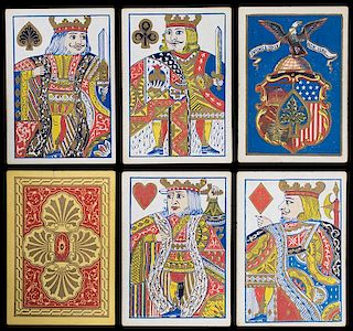 Lawrence & Cohen Illuminated Playing Cards.