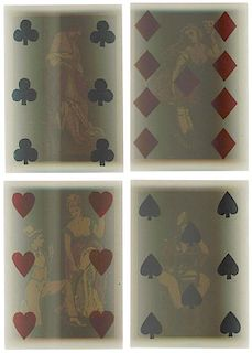 American Playing Card Co. Transparent Playing Cards.