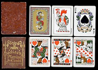 "New York Consolidated Card Co. ""Mediaeval"" Playing Cards."