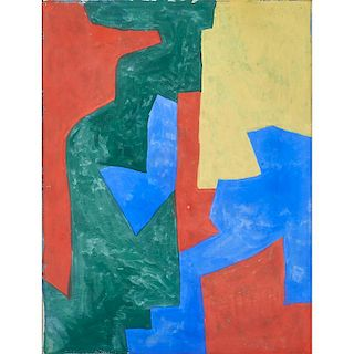 Serge Poliakoff (Russian, 1906-1969)