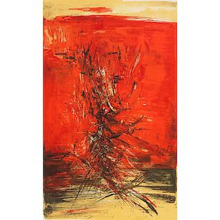 Zao Wou-Ki (Chinese/French, 1921-2013)