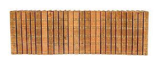 * ROUSSEAU, Jean Jacques. Oeuvres Completes. Paris, 1826-27. New edition. 26 vols.