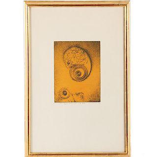 Max Ernst, etching