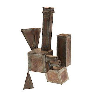 Manner of David Smith, steel sculpture