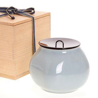 Kawase Shinobu, mizusashi container