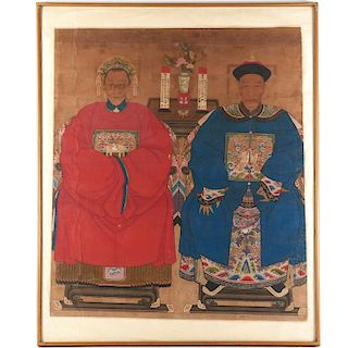 Chinese School, large painting