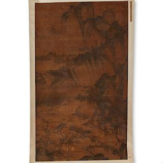 Manner of Mou Yi, scroll painting
