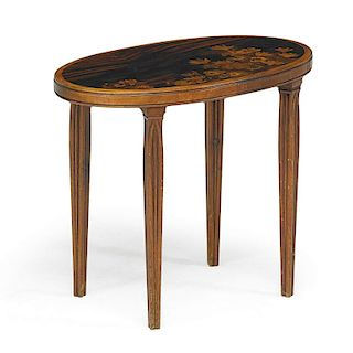 GALLE Marquetry table