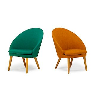 EJVIND JOHANSSON Pair of Easy chairs