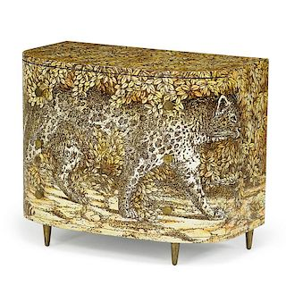 PIERO FORNASETTI Leopardo cabinet