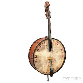 Folk Art Bass Banjo