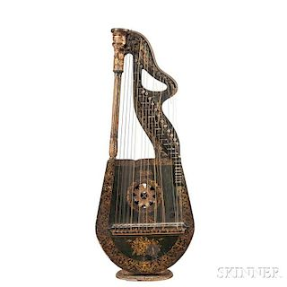 Edward Light Dital Harp, c. 1830