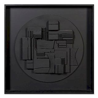 * Louise Nevelson, (American, 1899-1988), Full Moon, 1980