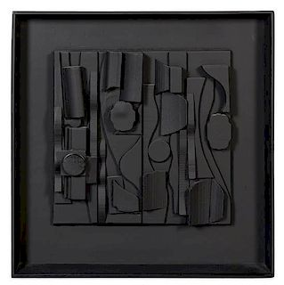 * Louise Nevelson, (American, 1899-1988), Symphony Three (Baro 127), 1974