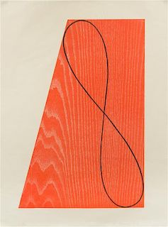 Robert Mangold, (American, born 1937), Untitled (from Skowhegan Suite), 1991