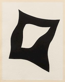 Jean Arp, (French, 1886-1966), Untitled
