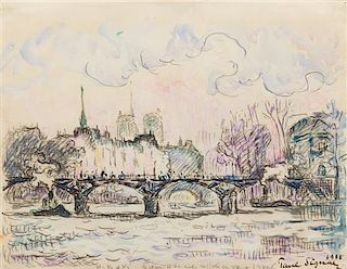 Paul Signac, (French, 1863-1935), Untitled, 1900