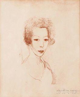 Marie Laurencin (French, 1883-1956)      Autoportrait