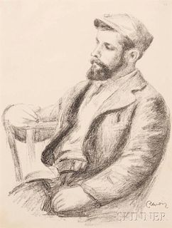 Pierre-Auguste Renoir (French, 1841-1919)      Louis Valtat