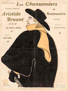 After Henri de Toulouse-Lautrec (French, 1864-1901)      Les Chansonniers de Montmartre  /A Magazine