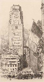 Childe Hassam (American, 1859-1935)      New York Bouquet