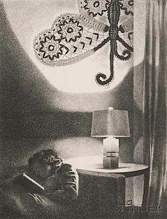 Louis Lozowick (Russian/American, 1892-1973)      Black Butterfly