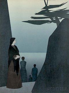 Will Barnet (American, 1911-2012)      Way to the Sea