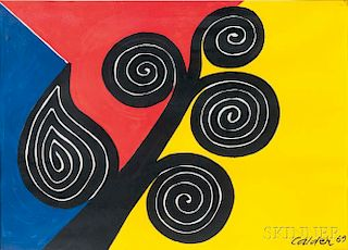 Alexander Calder (American, 1898-1976)      Autumn