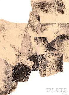 Eduardo Chillida (Spanish, 1924-2002)      Galerie Maeght, Affiche No. 73
