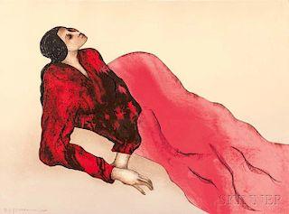 Rudolph Carl Gorman (American, 1932-2005)      Marcella