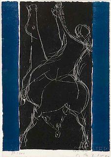 Marino Marini (Italian, 1901-1980)      Plate    from Marino Marini: due litografie e sei disegni