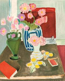 After Henri Matisse (French, 1869-1954)      Nature Morte